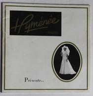 Brochure Publicitaire Ancienne 25 Robes De Mariée Hyménée Paris Pierre Bazin Confection à Vire - Mariage