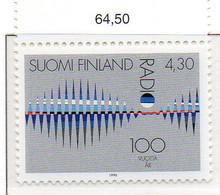 PIA - FINL  - 1996 : Centenario Della Radio - (Yv 1303) - Finlandia