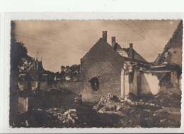CPA- BUCQUOY - Guerre 14-18 - Dép 62 -2 Scans - France