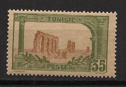 Tunisie - 1906-20 - N°Yv. 37 - Zaghouan 35c - Neuf  Luxe ** / MNH / Postfrisch - Tunisie (1888-1955)