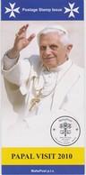 Malta 2010 Brochure About Block Papal Visit To Malta - Benedict XVI - Malta