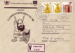 Postal History: Germany Military V Cover Landesverteidigung '88 Feldpost 3200 - Militaria