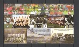 S345 2005 LESOTHO SPORT FOOTBALL 75TH ANNIVERSARY 1ST WORLD CUP URUGUAY 1KB MNH - 1930 – Uruguay