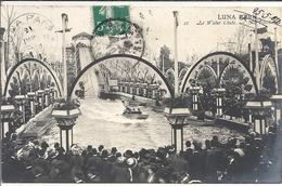 CPA Paris Luna Park Le Water Chute - Parques, Jardines