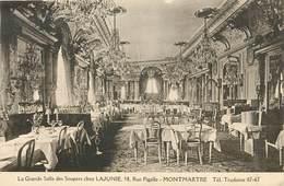 PARIS - Lajaunie, 58 Rue Pigalle, Montmartre, Grande Salle Des Soupers. - Distretto: 18