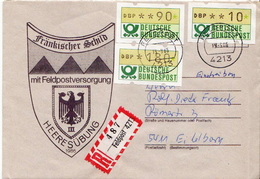 Postal History: Germany Military R Cover Heeresübung'86 Frankischer Schild Mit Feldpostversorgung Feldpost 4213 - Militaria