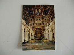 Postcard Postal Italy Roma Basilica S. Maria Nova S. Francesca Romana Interno - Eglises