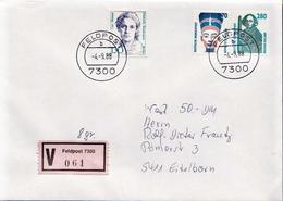 Postal History: Germany Military V Cover 1988 Feldpost 7300 - Militaria