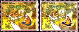 RELIGIONS-HINDUISM- EPIC RAMAYAN-ERROR-COLOR VARIETIES-LORD HANUMAN AT PANCHVATI -2017-SCARCE-MNH-H-805 - Hinduism