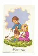 ENFANTS - LITTLE GIRL - MÄDCHEN - Jolie Carte Fantaisie   BONNE FETE - Enfants