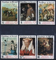 Burundi 1967 Set Of  Fine Used Stamps From The World Fair Montreal Set. - 1962-69: Used