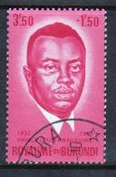 Burundi 1963 Single Fine Used Stamp From The Prince Rwagasore Memorial Fund. - Burundi
