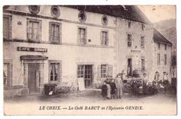 4913 - Le Cheix ( 63 ) - Le Café Babut Et L'Epicerie Geneix - - Francia