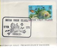Britische Jungferninseln 1978 MiNr.: 335 Ersttag; Virgin Islands FDC Sg: 382 - British Virgin Islands