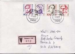 Postal History: Germany Military V Cover 1989 Feldpost 1100 - Militaria