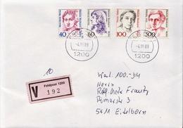 Postal History: Germany Military V Cover 1989 Feldpost 1200 - Militaria