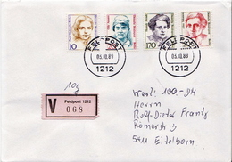 Postal History: Germany Military V Cover 1989 Feldpost 1212 - Militaria