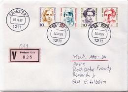 Postal History: Germany Military V Cover 1989 Feldpost 1211 - Militaria