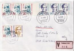 Postal History: Germany Military V Cover 1988 Feldpost 5100 - Militaria