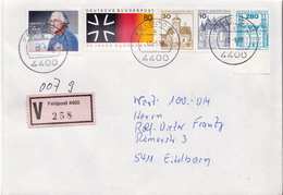 Postal History: Germany Military V Cover 1988 Feldpost 4400 - Militaria