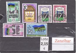 Tanzania    Zanzibar  -  Lote  6  Sellos Diferentes  - 6/3366 - Tanzania (1964-...)