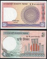 Bangladesh SET - 1& 2 Taka 1982 1988 - UNC - Bangladesh