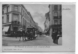 Bruxelles La Chaussee De Louvain A St Josse Ten Noode Tram - Avenidas, Bulevares
