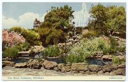 SOUTHSEA : THE ROCK GARDENS - Portsmouth