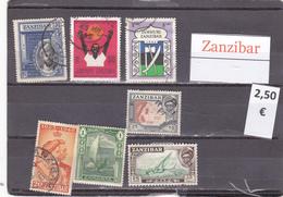 Tanzania    Zanzibar  -  Lote  7  Sellos Diferentes  - 6/3367 - Tanzania (1964-...)