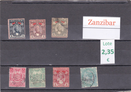Tanzania    Zanzibar  -  Lote  7  Sellos Diferentes  - 6/3368 - Tanzania (1964-...)