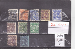 Tanzania    Zanzibar  -  Lote  10  Sellos Diferentes  - 6/3369 - Tanzania (1964-...)