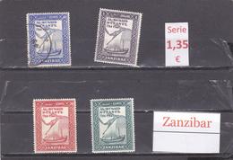 Tanzania    Zanzibar  -  Serie Completa  - 6/3370 - Tanzania (1964-...)