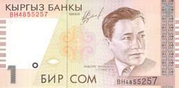 1 Som Kirgistan 1999 UNC - Kirgisistan