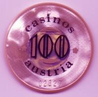 Jeton De Casino : Casinos Austria Autriche 100 Shilling - Casino