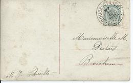 Fantasiekaart Met OCB 81 - Afstempeling BOUCHOUT(LIER) - COBA 8 - 1893-1907 Armoiries