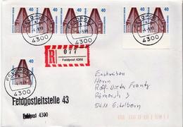 Postal History: Germany Military R Cover Feldpost 4300 - Militaria