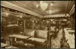 Ref 1297 - Postcard - Interior West End Hotel - Bruxelles Brussels - Belgium - Pubs, Hotels, Restaurants