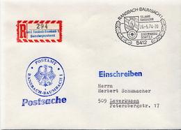 Postal History: Germany Military R Cover Ransbach-Baumbach - Militaria