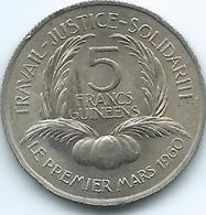 Guinea - 1962 - 5 Francs Guinéens - KM5 - Guinée