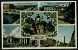 Ref 1297 - 1957 Multiview Postcard - Dublin Ireland Eire - Dublin