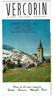 Dépliant Touristique C1965 - VERCORIN Sur SIERRE - Valais - 3 Scans - Dépliants Touristiques