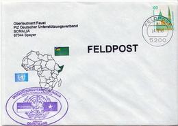 Postal History: Germany Military Cover Feldpost Somalia 1993 - Militaria