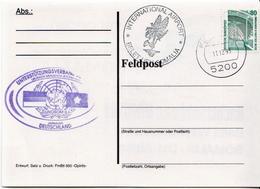 Postal History: Germany Military Card Feldpost Somalia 1993, International Airport - Militaria
