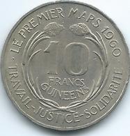 Guinea - 1962 - 10 Francs Guinéens - KM6 - Guinée