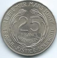 Guinea - 1962 - 25 Francs Guinéens - KM7 - Guinée