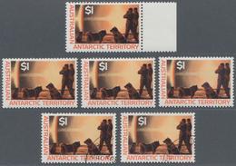Australien - Antarktische Gebiete: 1957/1998 (ca.), Duplicates In Two Stockbooks With Very Many Comp - Australisches Antarktis-Territorium (AAT)