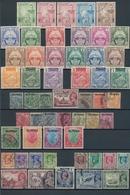 Birma / Burma / Myanmar: 1937/1949, Mint And Used Collection On Stockpages, Comprising E.g. 1937 Ove - Myanmar (Burma 1948-...)