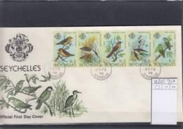 Seychellen Michel Cat.No.   FDC 452/456 Birds - Seychelles (1976-...)