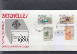Seychellen Michel Cat.No.   FDC 457/460 - Seychelles (1976-...)