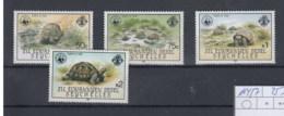 Aussere Seychellen Michel Cat.No.    Mnh/** 104/107 Wwf Turtles - Seychelles (1976-...)